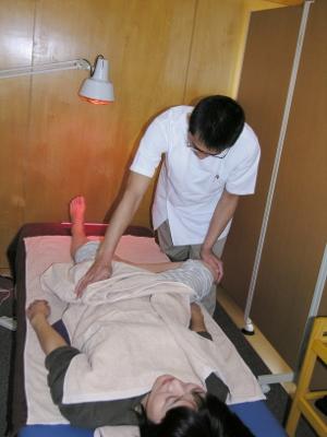 5-3 動く範囲が広がって下肢の経絡の状態が良くなったことを意味します
