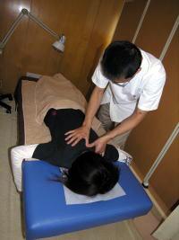 胸椎調整の整体@津山整体・鍼灸・マッサージ