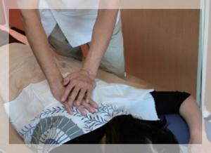 肩・背中のマッサージ@津山市の整体・鍼灸・マッサージ