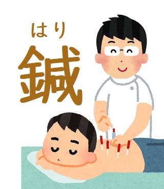 鍼治療イメージ図